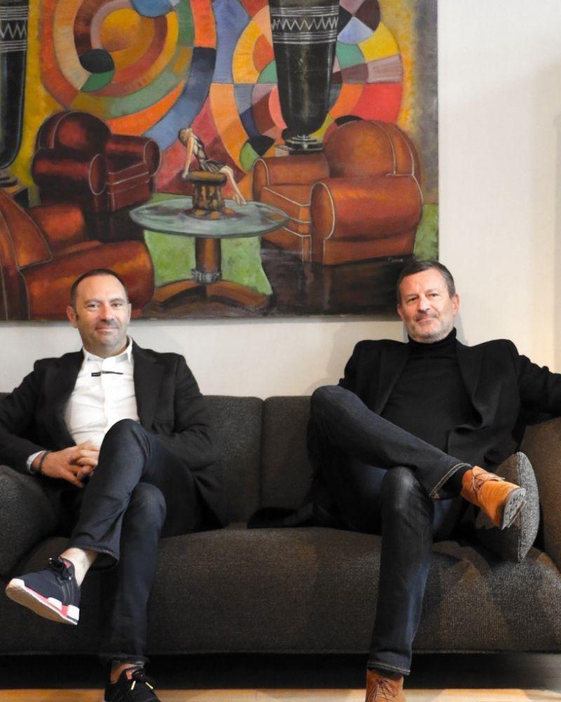 Jean et Lionel Nocentini